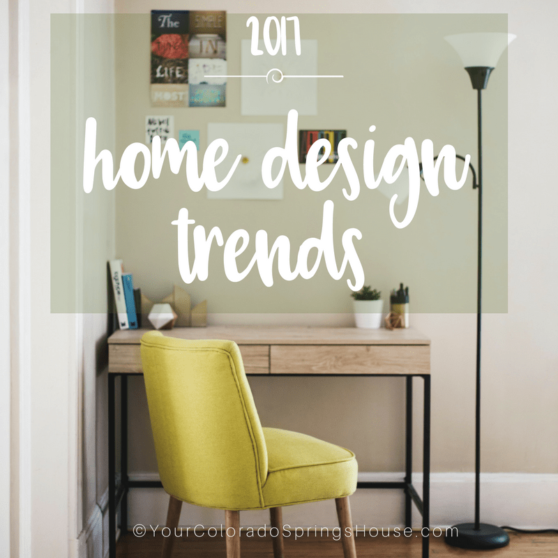 2017 Home design trends