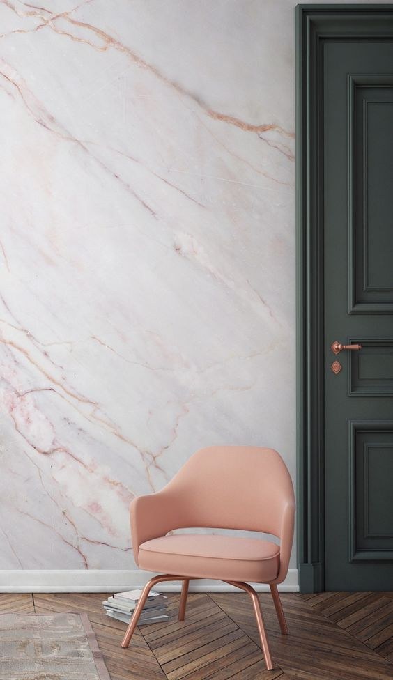 Marble Wall   A Home Design Trend In 2017