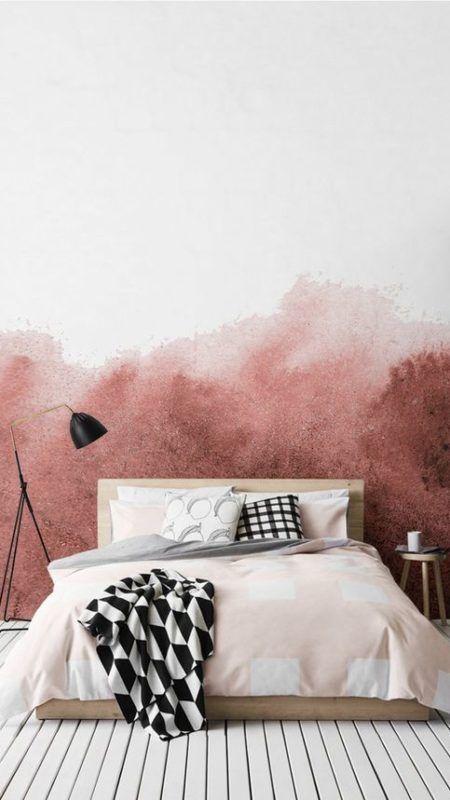 Watercolor wall decor