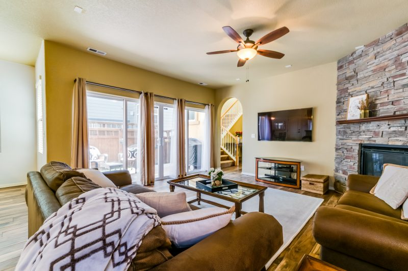 Gold Hill Mesa living room