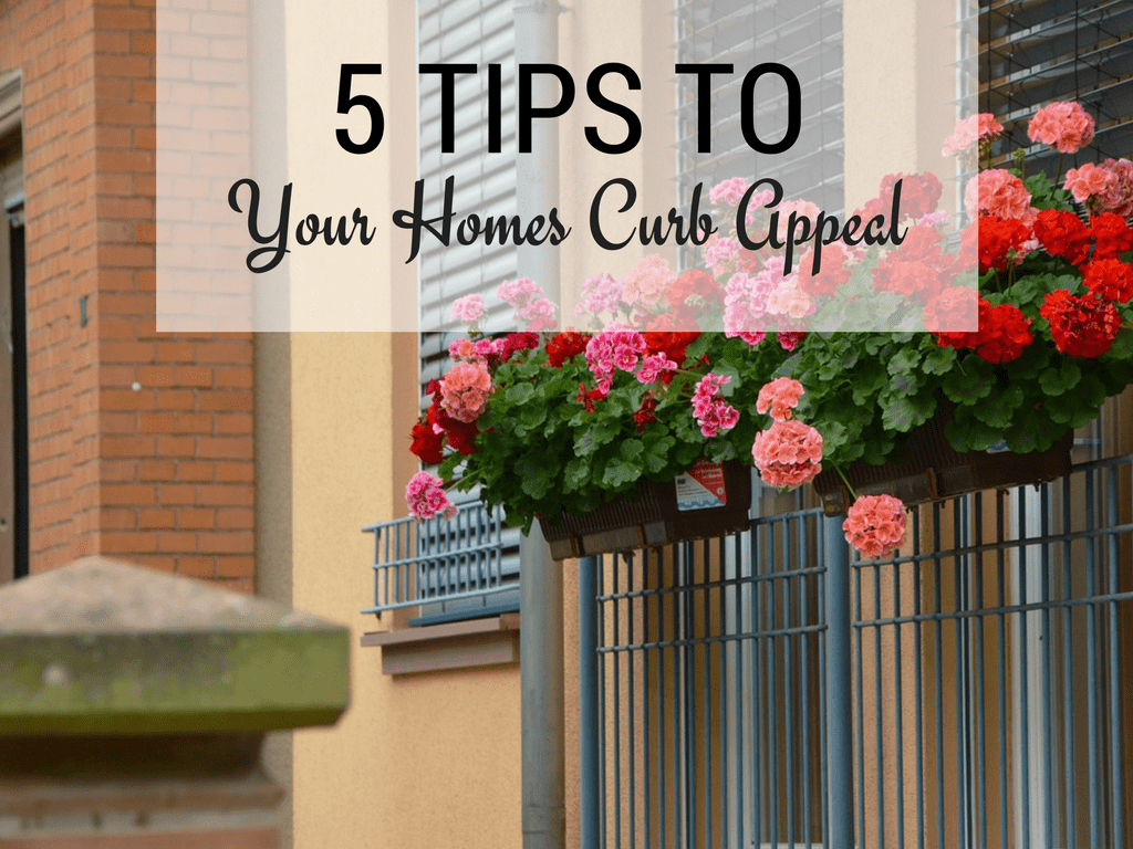 5 tips to improve your home's curb appeal