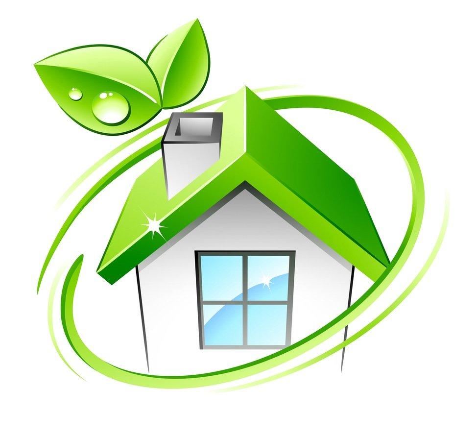 high efficiency/green home cartoon