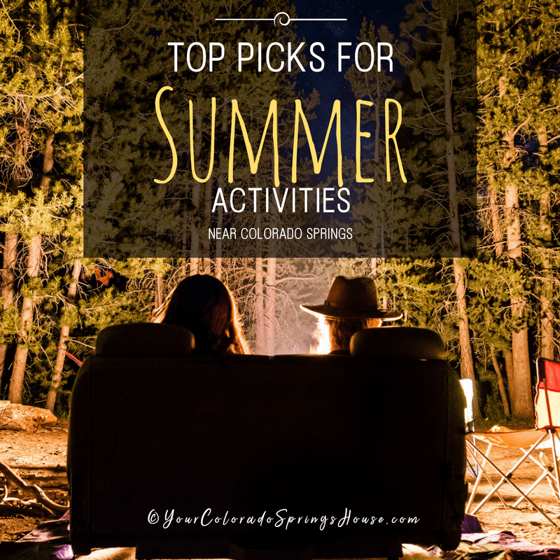 summer activities colorado springs