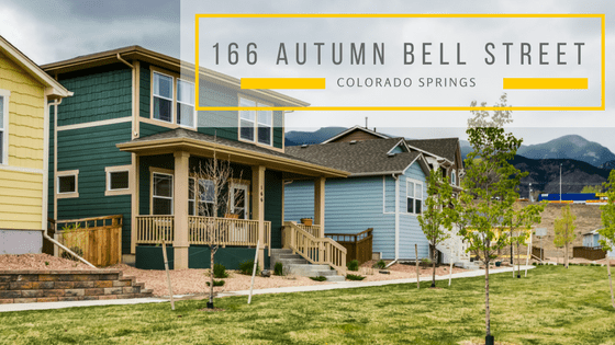 166 Autumn Bell Street, a home for sale in the Gold Hill Mesa subdivision in Colorado Springs