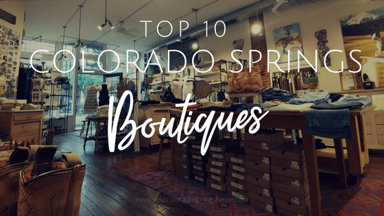 Top 10 Colorado Springs Boutiques
