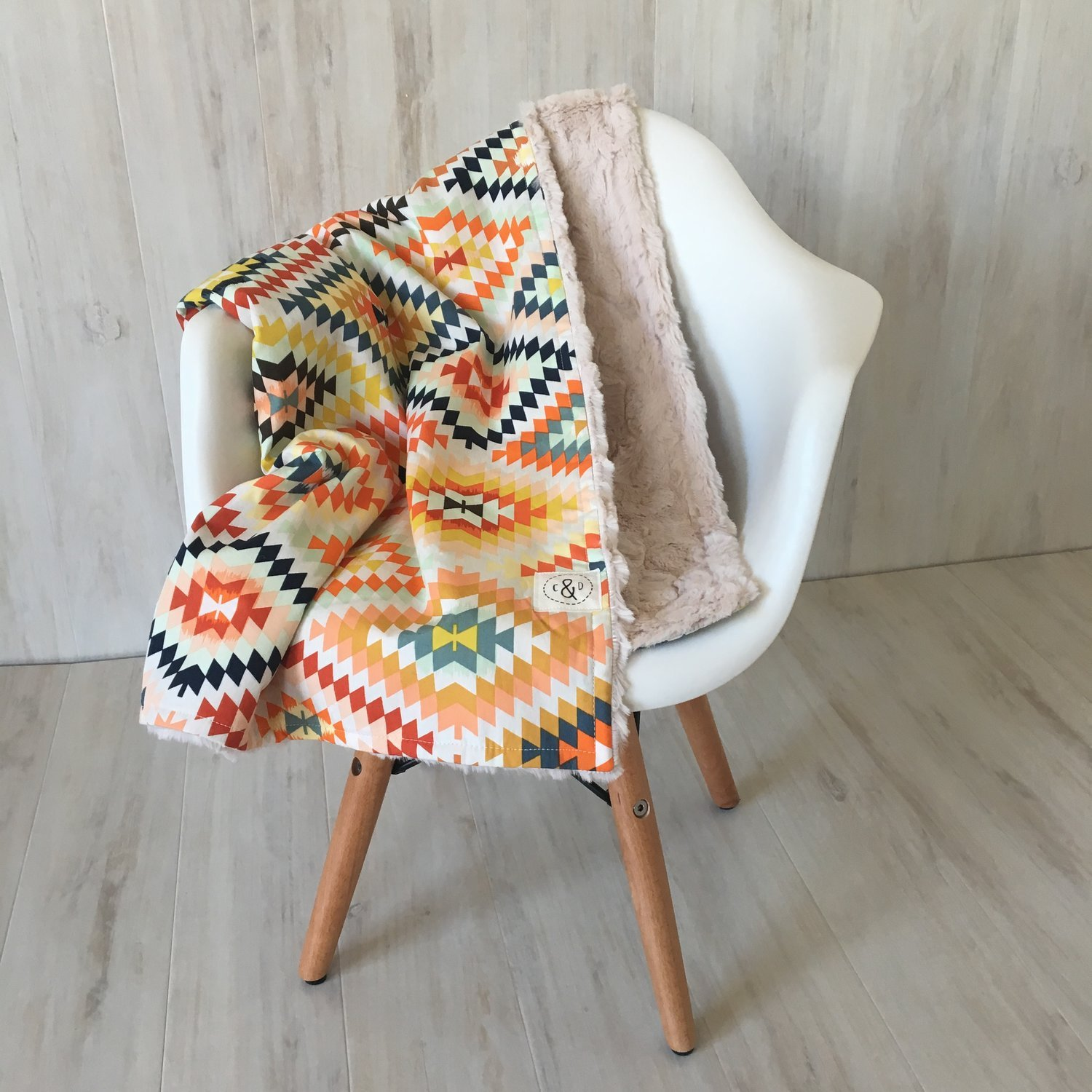 Cole and Dainer lined blanket