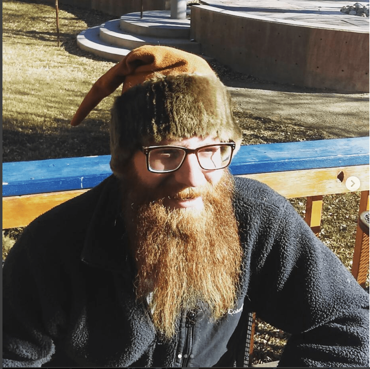 Mink, elk skin elf hat