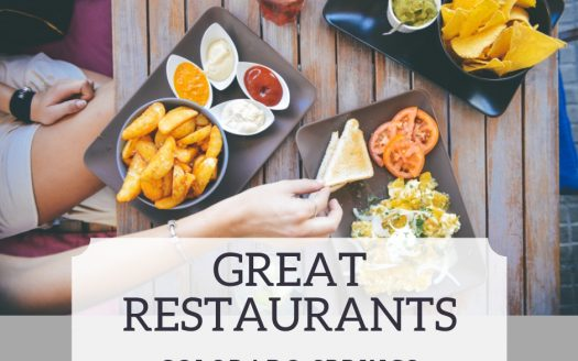 Great Restaurants in Colorado Springs
