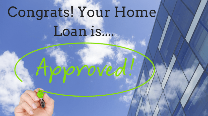 Congrats! Your home loan is approved!