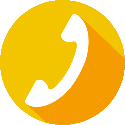 Phone icon CTA to schedule consultation