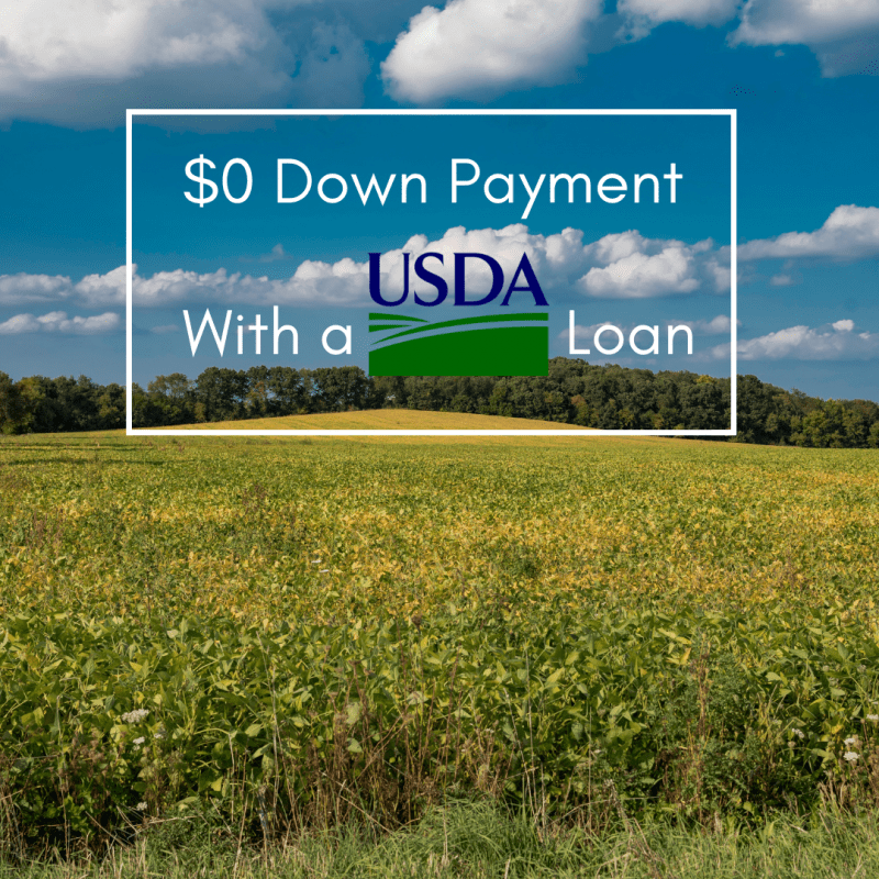 100% Financing with USDA Loan