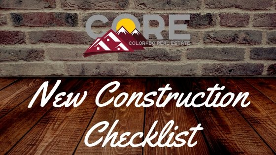 New Construction Checklist