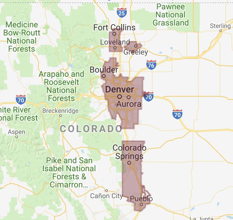 USDA eligible areas