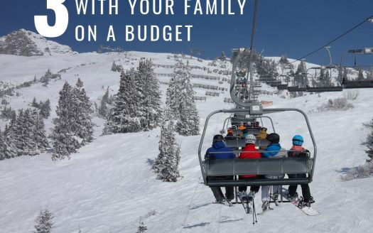 3 tips to ski with your family on a budget