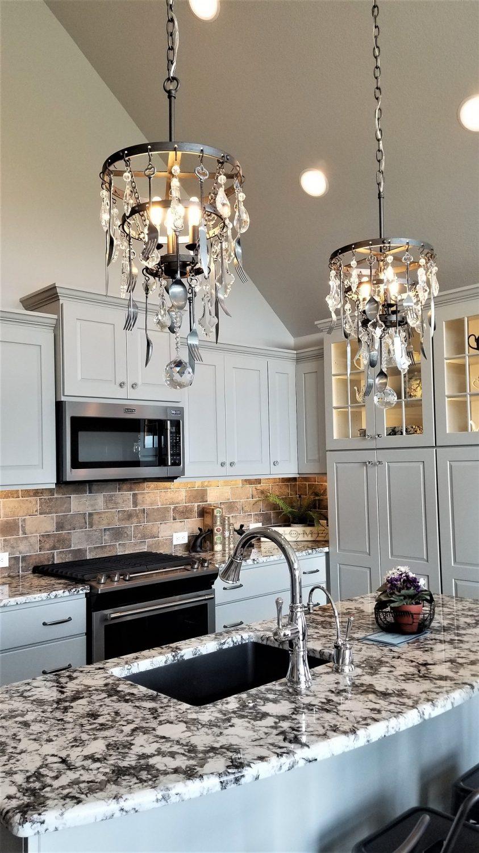 creative kitchen chandeliers