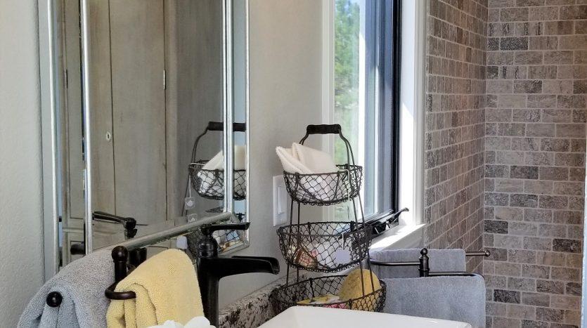 Soft dark gray chandelier light fixture