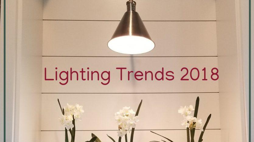 Lighting Trends in 2018
