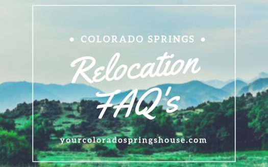 Colorado Springs Relocation FAQ's