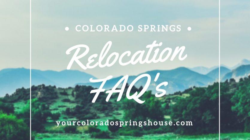 Relocation FAQ's