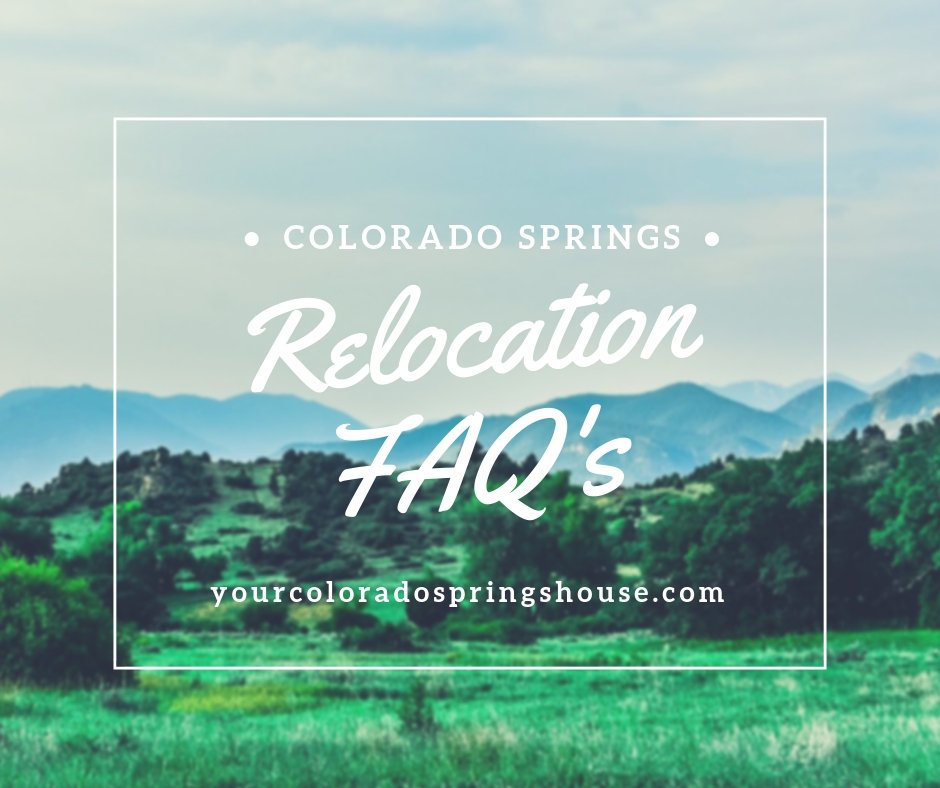 Relocation FAQ's