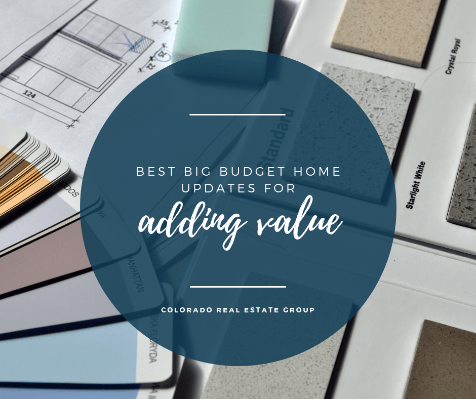Adding Value with Big Budget Home Projects