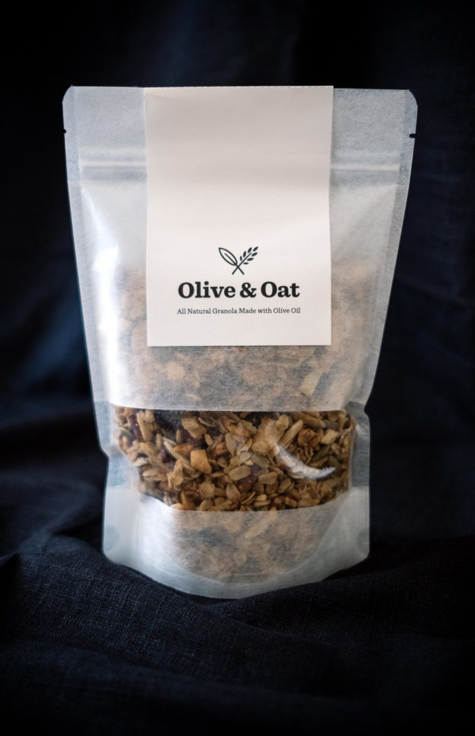 picture of olive & oat granola