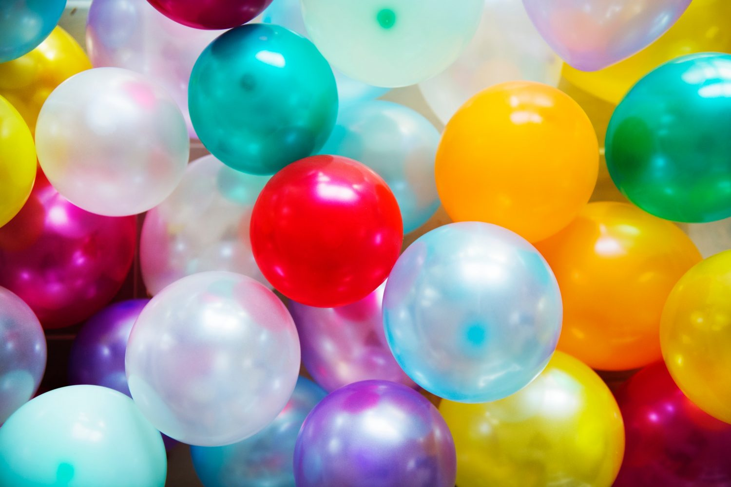 Image of multicolor balloons