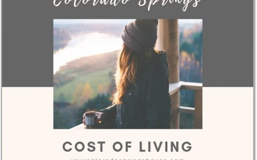 Picture of woman with Colorado Springs Cost of Living caption