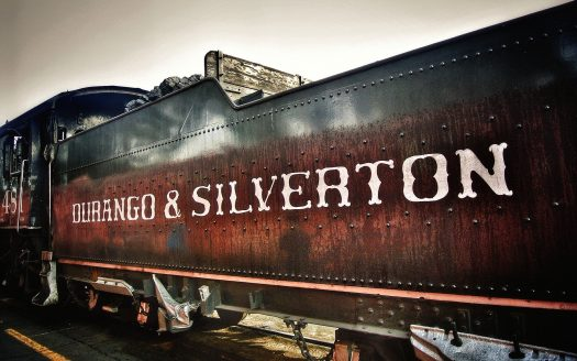 Durango & Silverton old train car