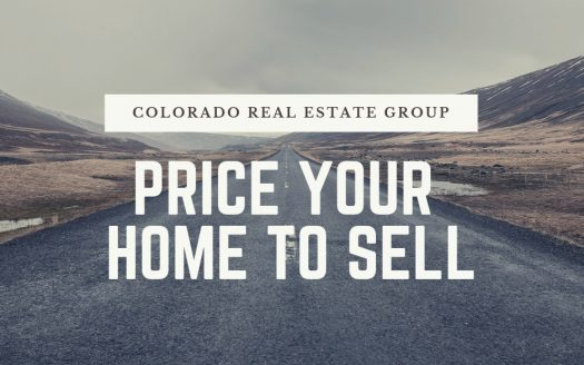 "Picture of road with caption ""price your home to sell"""