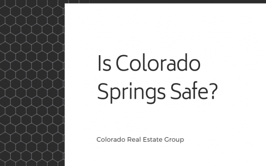 "Graphic with ""Is Colorado Springs Safe"" caption"