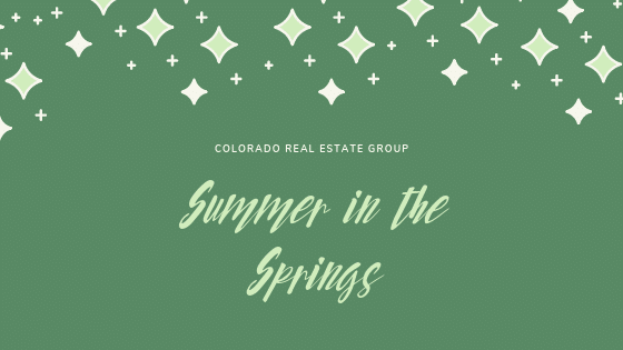 graphic with Summer in the Springs caption
