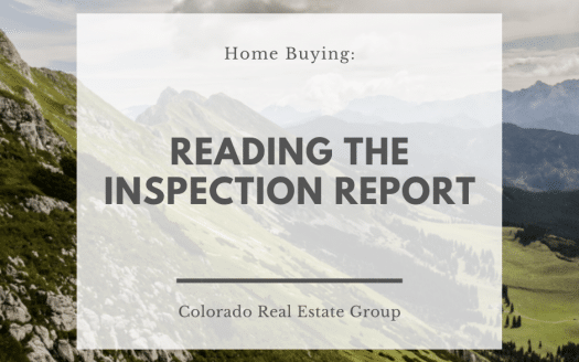 Text Home Buying: Reading the Inspection report