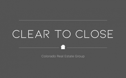Clear to close graphic