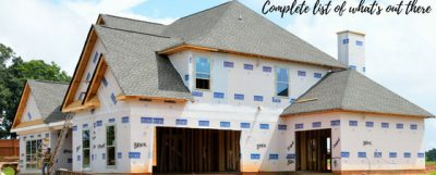 Picture of a home under construction captioned with Finding New Construction In Colorado Springs