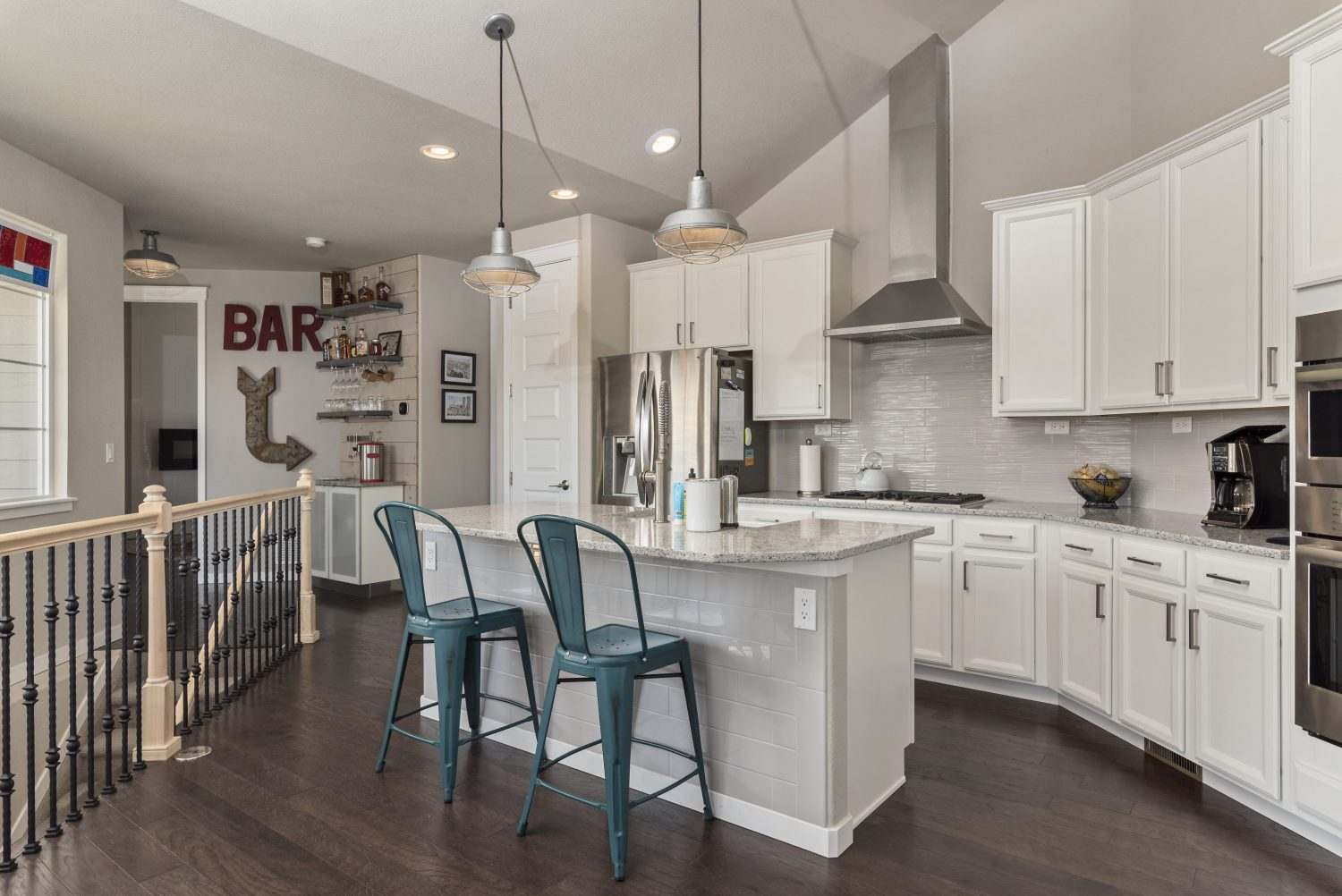 picture of a kitchen in a house for sale