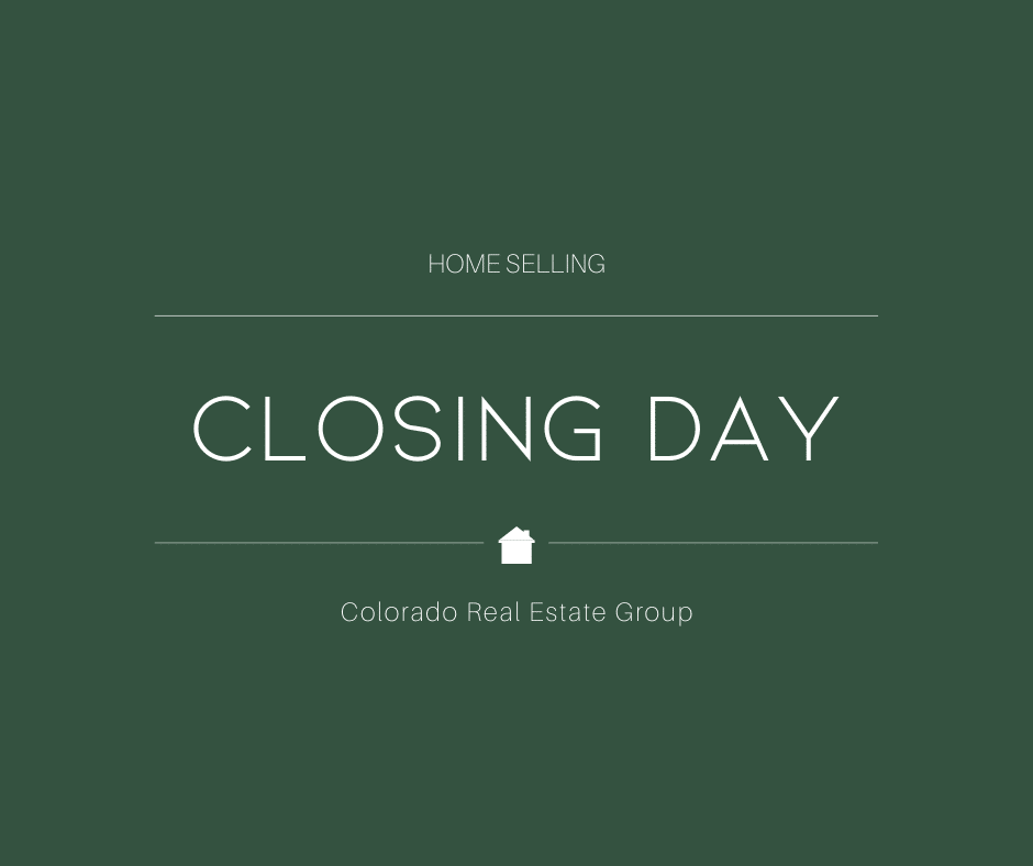 home selling closing day details