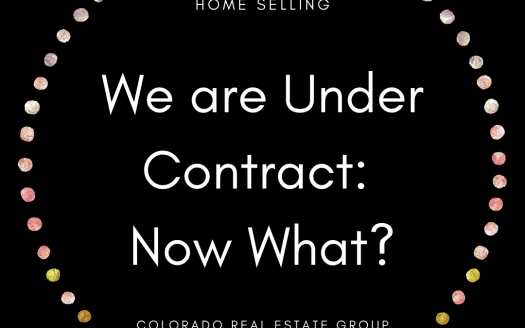 We are under contract: now what?