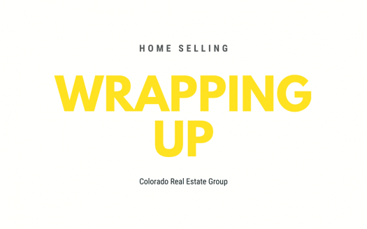Home Selling wrapping up caption