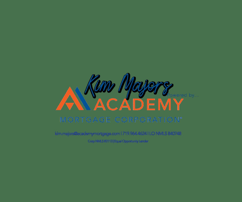 Kim Majors Academy Mortgage Logo