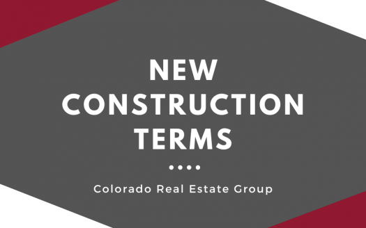 New construction terms