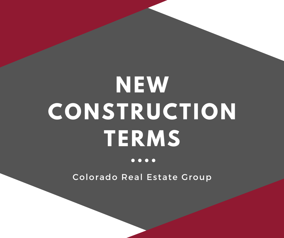 graphic of new construction terms