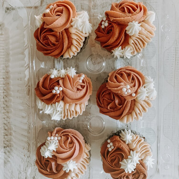 picture of cupcakes from Butter + Milk in Colorado Springs
